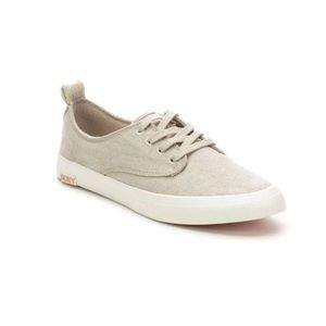 ROXY Surf Women's Shaka Low Gold Oxford Sneakers